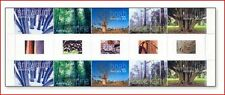 AUS0524PAS Trees 5 stamps in strip