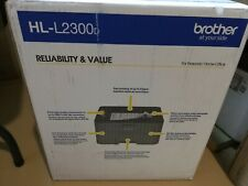 Brand New Brother HL-L2300D Compact Laser Printer with Duplex Printing