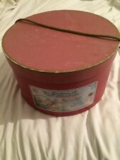 Vecchia Scatola Porta Biancheria In Cartone Vintage