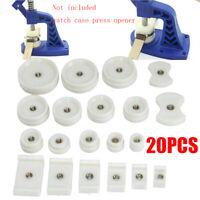 20 Druckplatten Einpresswerkzeug Gehäuseschließer Uhrendeckelpresse Schließer DE