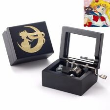 Japan Sankyo Sailor Moon Mirror ( LIMITED EDITION) Hand Crank Music Box