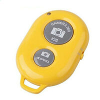 Mini Selfie Remote Control Shutter Wireless Bluetooth For Camera Phone Tablet UK