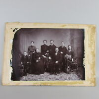Early 1900s Photo Minnesota Family in studio 7 x 10 VERY CLEAR IMAGE