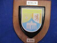 Bundeswehr Nato  Erinnerungsstücke Plakette
