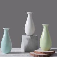 Mini Keramik Blumenvase Einfache Kugel Flasche für Getrocknete Blumen Vase