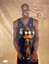 Lamar Odom Los Angeles Lakers (2009 Champs) Signed 11x14 Photo JSA