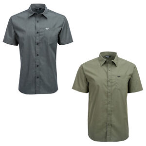 Fly Racing Men's Button Up Short Sleeve Shirt
