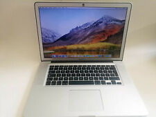 "Apple MacBook Pro Matt A1286 15.4"" Laptop 2,4 GHz Intel Core i5 8GB Mitte 2010"
