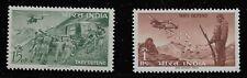 India Scott #374-75, Singles 1963 Complete Set FVF MH