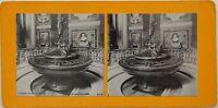 Roma Santa Maria Maggiore il Battistero Italia Foto Stereo Vintage Analogica