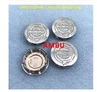 4pcs 54mm 64mm ABS Chrome Chrysler car logo emblem Wheel Center Hub Cap