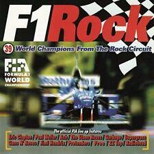 F1 Rock Eric Clapton, Paul Weller, Stone Roses, Garbage, ZZ Top, radioh... [2 CD]