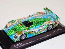 1/43 Minichamps Audi R8R car #77 ALMS Team Joest ALMS Adelaide 2000 Winner