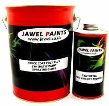 Synthetic Truck & Car Spraying Paint Gloss 6 Litre Post Office Red