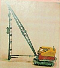 Bucyrus Erie #22Rb Pile Driver Kit 1/87 Scale (Ho) By Langley Models