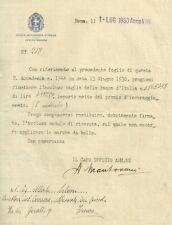Reale Accademia d'Italia Premio d'Incoraggiamento 1930