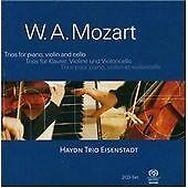 MOZART: TRIOS FOR PIANO, VIOLIN & CELLO [HYBRID SACD] NEW CD