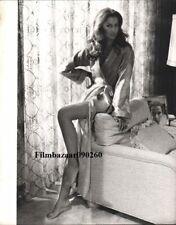 "VERONICA HAMEL - Original Vintage 14"" x 11"" b/w Photo WHEN TIME RAN OUT C#81"