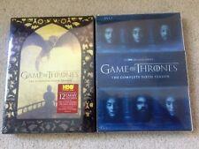 Game of Thrones Seasons 5 & 6 DVD Combo Brand New USA