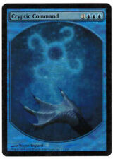 Cryptic Command Extended Art  Foil card Magic: the gathering,  MTG CCG Single