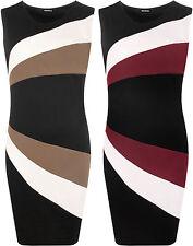 Geometrische Stretchkleider aus Polyester
