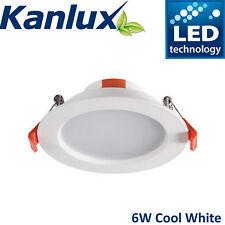 Kanlux Liten LED Downlight Fitting Ceiling Recessed Spot Panel 6W Cool White 840