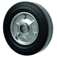 """8"""" / 200mm Heavy duty wheel with cushioned rubber tyre"""