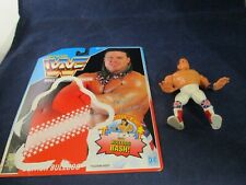 Wwf World Wrestling Federation The British Bulldog Action Figure + Backing
