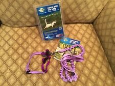 NEW- Pet Safe - Cat Harness & Bungee Leash, size small for cats up 12 lbs.