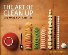 "Hardcover Book: ""The Art of Clean Up: Life Made Neat and Tidy"", by Ursus Wehrli"