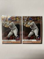 2019 Topps Chrome Update Series #86 Pete Alonso RC ASG New York Mets Lot PA3