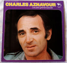 33 TOURS CHARLES AZNAVOUR LES PLUS GRANDS SUCCES BARCLAY made in ALLEMAGNE