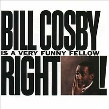 Bill Cosby Is a Very Funny Fellow Right! Comedy CD 12TRACKS Superman, Pep Talk +