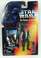 """Kenner STAR WARS Power Of The Force HAN SOLO 3.75"""" Action Figure 1997 NEW"""