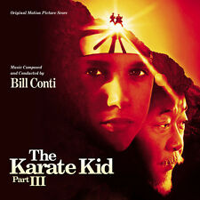 THE KARATE KID  3 CD  *SOLD OUT* LIMITED ZAMFIR  SCORE OST CONTI  SOUNDTRACK