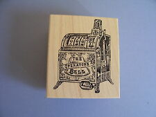 100 PROOF PRESS RUBBER STAMPS ONE ARM BANDIT SLOT MACHINE CASINO NEW wood STAMP