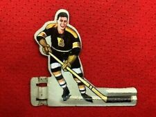 EAGLE TOYS BOSTON BRUINS TIN MAN TABLE HOCKEY GAME PLAYER PRIMO CONDITION