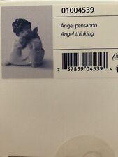 Lladro Angel Thinking New! Box! Mint!
