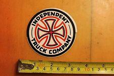 Independent Skateboard Truck Company Cross Vintage Skateboarding Decal Sticker