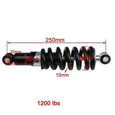 "Rear Shock Absorber Shocker Suspension 250mm 9.8"" Dirt Pit Bike Honda Apollo"