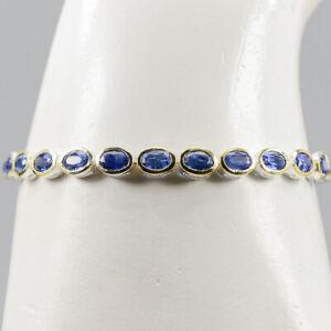 Handmade Kyanite Bracelet 925 Sterling Silver  Inches 7.5/BR05105