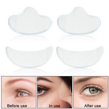 4 Pcs Anti Wrinkle Eye Pads Reusable Silicone Pad for Anti Aging Wrinkles Reduce