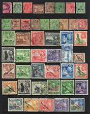 MALTA COLLECTION - 13 Pages of Good/Fine Used Stamps (439 TOTAL)