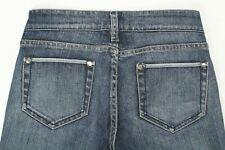Noir Women's Cropped Jeans Stretch Ankle Button Denim Size 2