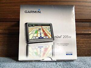 "BRAND NEW OPEN BOX Garmin Nüvi 205W 4.3"" Automotive Mountable GPS Navigator. 17"
