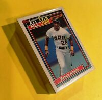 50) BARRY BONDS Pittsburgh Pirates 1992 Topps All Star LOT Card #390