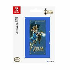 HORI Legend Of Zelda Breath Of The Wild: 24 Game Card Case Nintendo Switch NEW