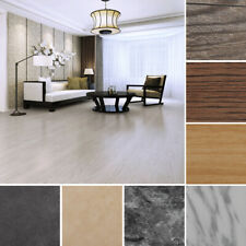 Set of 24/36pcs Peel and Stick Planks PVC Flooring Wood Grain Floor Tile Mat DIY