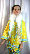 """OOAK"""" OUTFIT CHARLESTON """"DOLL TONNER AMERICAN MODEL"""" 22"""" MA DOLL OF DAWN"""