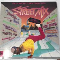 Street Mix LP Vinyl Record Original 1984 Hip Hop / Electro Compilation